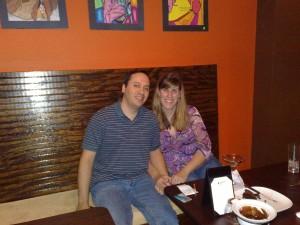 Raj and I on date night!!