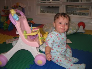 Maggie At Nine Months Old!