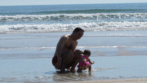 Daddy and Maggie