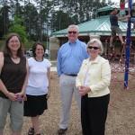 Jennifer, Debbie, Rick, and Betty...church family